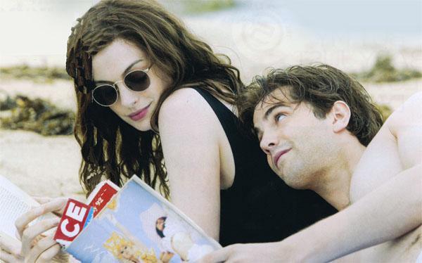 Best friends Emma (Anne Hathaway) and Dexter (Jim Sturgess) in new film One Day.