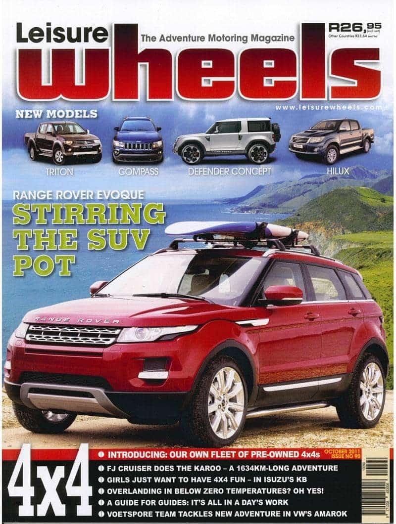 Leisure Wheels Tmb October 2011