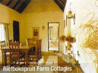 Rietbokspruit Farm Cottages