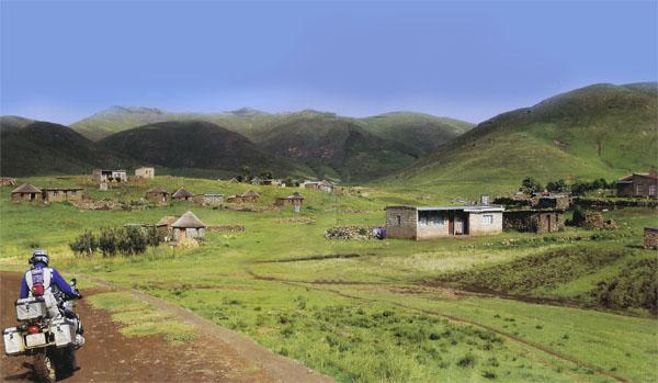 The ascents and descents of a motorbike tour through Lesotho.