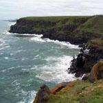 A stretch of coastline along the Wild Coast Meander, Eastern Cape