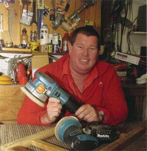Andrew Bain - Company owner and enthusiastic woodworker