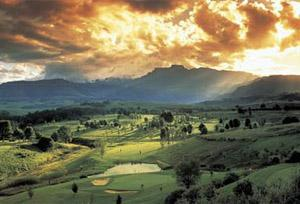 Champagne Sports Resort Golf Course, Drakensberg, KwaZulu-Natal