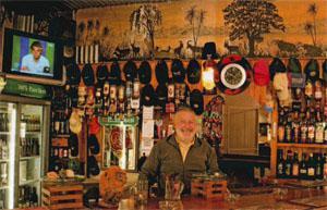 Digger's Retreat Pub host Mark Seady