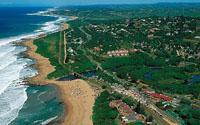 The popular resort town of Hibberdene on the Hibiscus Coast