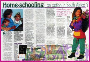 how to start homeschooling in south africa