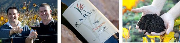 Karusa Wines collage