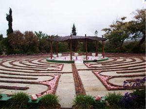 Labyrinth at the Manger Farm, Lemoenskloof, Barrydale