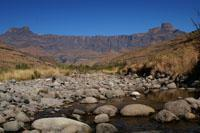 The magnificent amphitheatre in the Royal Natal National Park.