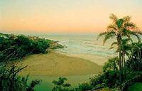 Magnificent Bazley Beach on the South Coast of Kwazulu-Natal