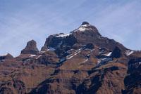 The magnificent Cathedral Peak in the Drakensberg