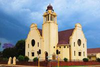 The historic town of Dundee, Kwazulu-Natal