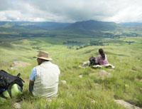 Spectacular views of the Mzimkhulu Valley, as seen from the Giant's Cup trail