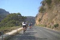 Mountain Biking in the Lake Eland Game Reserve, Oribi Gorge