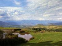Mountainous scenery at the Little Switzerland Resort