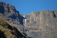 The impressive scenery in the Mdedelo Wilderness Area, uKhahlamba-Drakensberg