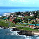 The coastal resort town of Port Edward, South Coast, KwaZulu-Natal