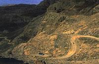 The incredibly scenic Sani Pass, Underberg, Kwazulu-Natal