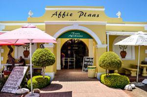 Affie Plaas Shop Entrance