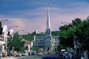 Dutch Reform Church in Graaff Reinet - just one of the towns's beautiful old churches