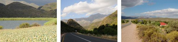 Prince Albert to De Rust and Oudtshoorn