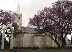 Robertson South Africa Church