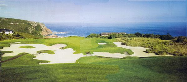 You shouldn't be disappointed if you find the large bunker guarding the front of the short par-four 14th hole, as it gives you more time to admire the spectacular view of the Indian Ocean. And that is enough reward in itself.
