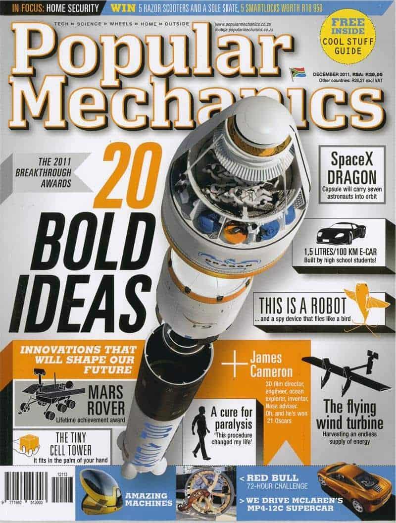 Popular Mechanics December thb 2011