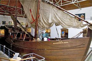 Full size replica of Barthomew Diaz Boat - The Caravel