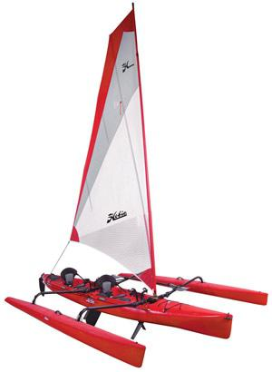 Hobie Mirage Tandem - A Tri made for two