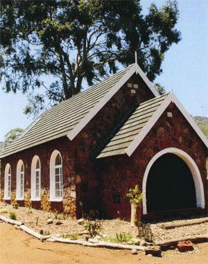 Louis Trichardt is a special place. This little church is a private family church on a privately owned farm. It is complete with authentic church bell and cemetery - telling the story of the Jackel family, who have owned the farm for many years.
