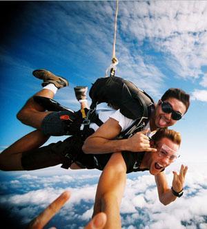 Tandem Skydiving Mossel Bay