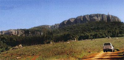 The majestic Soutpansberg Mountain Range.