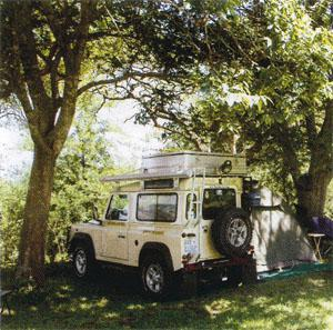 The municipal camping grounds.