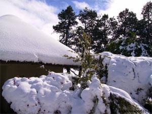Snow in Dordrecht, Karoo Heartland, Eastern Cape