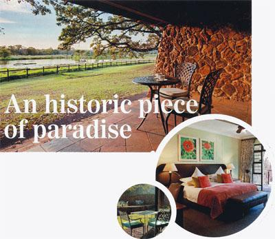 An historic piece of paradise African Pride Irene Country Lodge