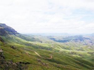 Bastervoetpad Pass, Eastern Cape Highlands