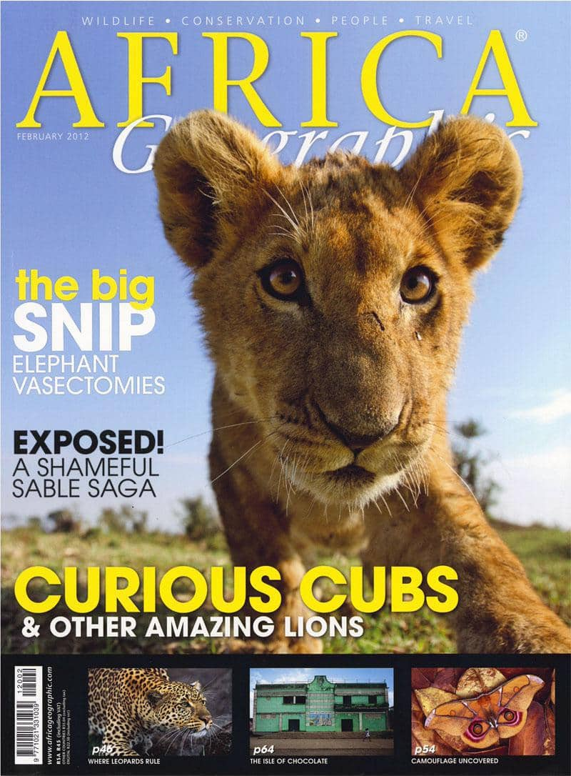 February 2012 Africa Geographic