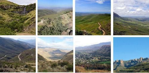 Passes of the Eastern Cape Highlands