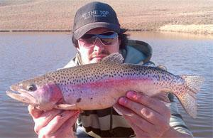 Trout Fishing Thrift Dam Tarkastad, Eastern Cape