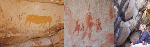 Rock Art Op-die-Berg, Breede River Valley, Western Cape