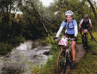 The Cradle of Humankind offers a surprising range of terrain to tempt cyclists - certainly much more than archaeology sites