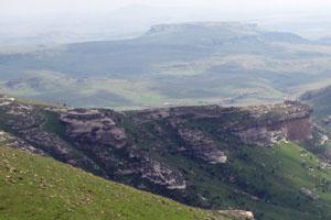 The Rhebok Hiking Trail, Golden Gate National Park,South Africa
