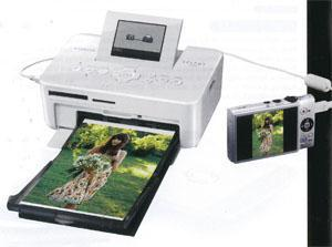 Canon's latest compact photo printer, the Selphy CP810