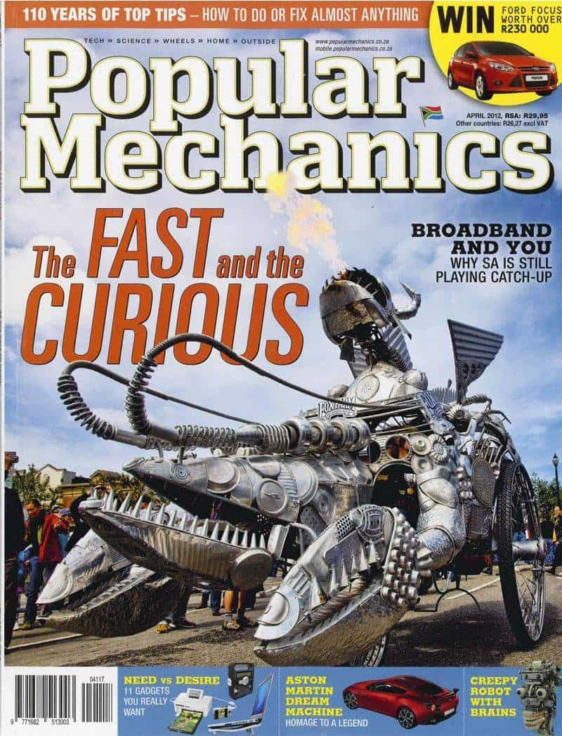 Popular Mechanics April 2012