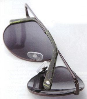 Sunglasses from David Green's Leaf Collection range