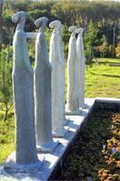 De Roubaix Gallery, Wolvensgat, Overberg Stargazer Statues