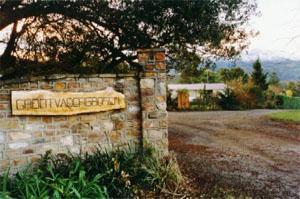Grootvadersbosch Nature Reserve Entrance