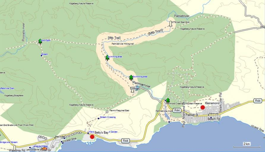 Hiking Trails Betty S Bay Kogelberg Kleinmond South Africa