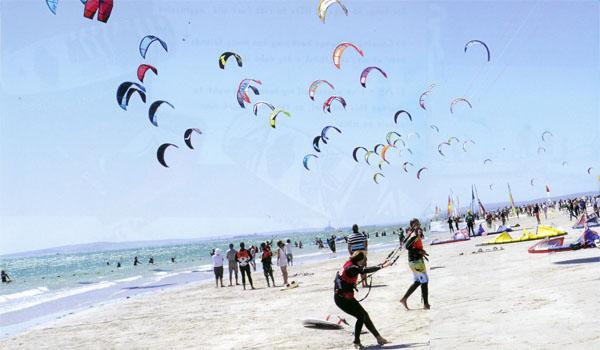 Langebaan down wind dash 2012
